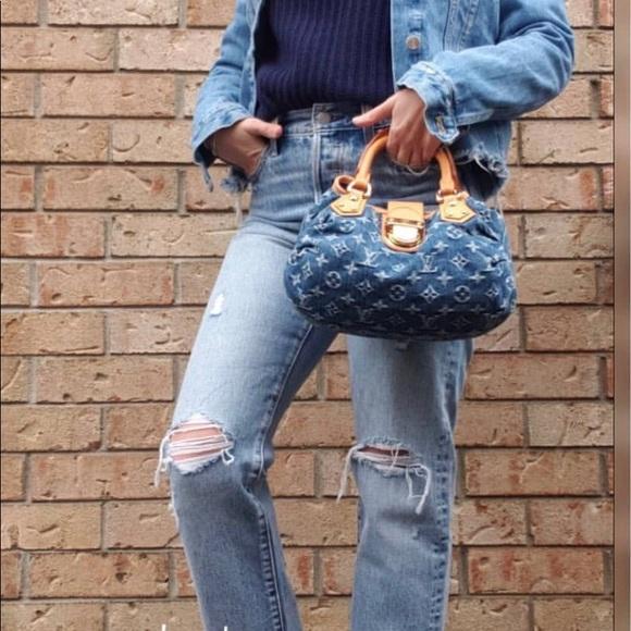 Louis Vuitton Handbags - 🌀🦋Cute Mini denim Louis Vuitton purse